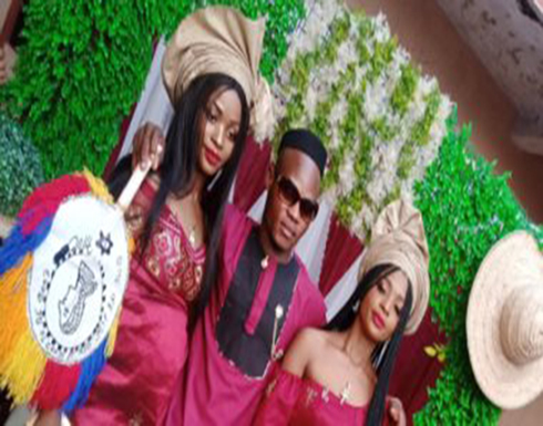 حفل زفاف توأم على رجل فى نيجيريا.. صور وفيديو
