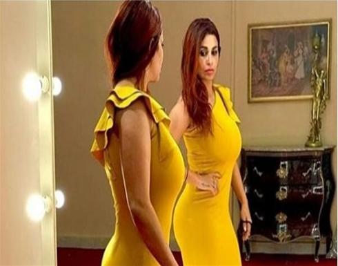 بالفيديو : زوجة احمد الفيشاوي تعرض مفاتنها وتعرضها للانتقادات