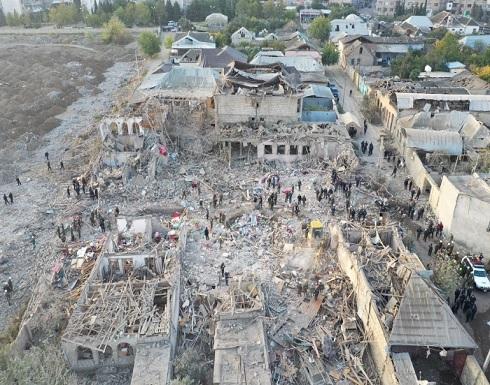 مقتل 12 شخص وإصابة 40 في قصف مدينة غنجة الأذربيجانية .. أرمينيا تنفي مسؤوليتها
