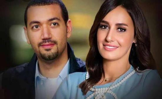 حلا شيحة تظهر برفقة معز مسعود لأول مرة بعد زواجهما (صورة)
