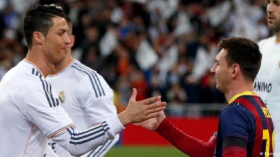 """رونالدو وميسي يتصدران قائمة المنافسين على """"الكرة الذهبية"""""""