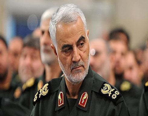 """إيران تعلن عن """"احباط"""" مخطط لاغتيال قاسم سليماني"""