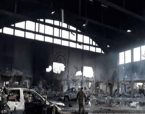 التلفزيون الإسرائيلي ينشر صورا لقاعدة التيفور بعد الضربة