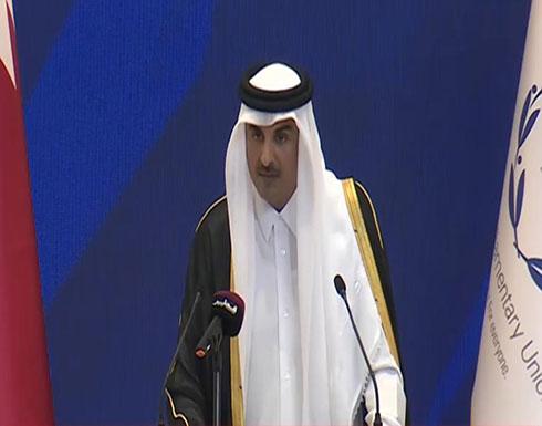 أمير قطر: شباب متعلمون قادوا التحركات الشعبية عربيا طلبا للكرامة والعدالة