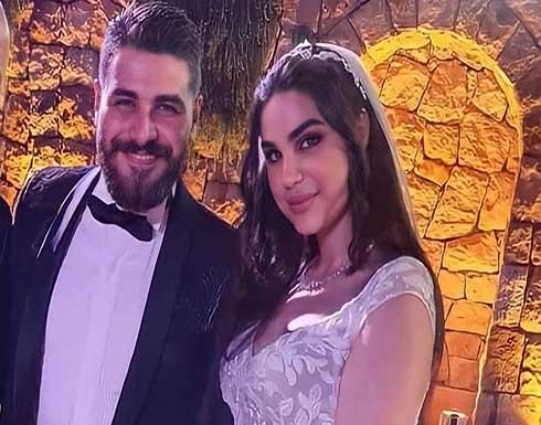 بالفيديو .. محمد المجذوب يحتفل بزفافه على رشا الزين بحضور النجوم