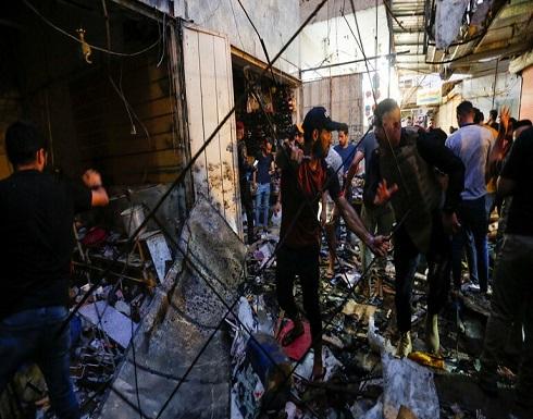 تنظيم الدولة يعلن مسؤوليته عن الهجوم الإنتحاري في مدينة الصدر ببغداد