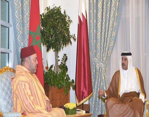 قمة قطرية مغربية في الدوحة
