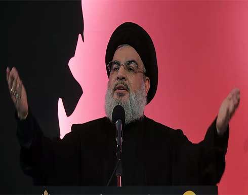 نصر الله: لبنان على حافة الانهيار ونحتاج لحكومة إنقاذ وإصلاح