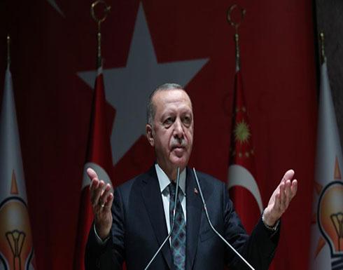 تناولت  ومصر وأوروبا..أردوغان يلقي كلمة حول تدخل قواته بسوريا
