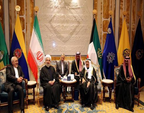 روحاني بالكويت لبحث العلاقات الإيرانية الخليجية