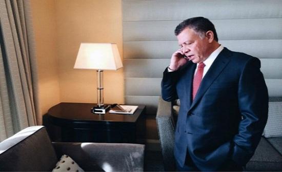 الملك عبدالله الثاني يطمئن في اتصال هاتفي على صحة العاهل المغربي