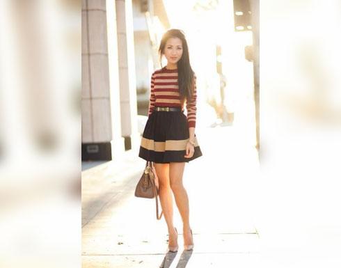 أزياء تمنحك المزيد من الطول والأناقة