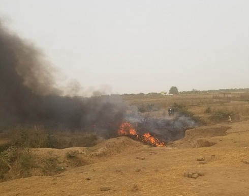 شاهد: قتلى جراء تحطم طائرة عسكرية لدى اقترابها من مطار أبوجا في نيجيريا