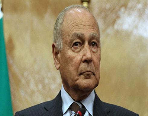 أبو الغيط يحث أطراف الأزمة السودانية على العودة لطاولة التفاوض