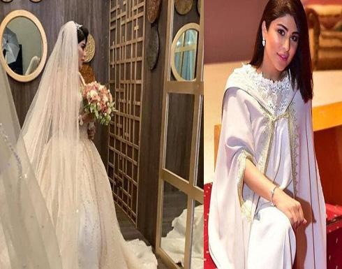 زارا البلوشي تتألق بحفل زفافها وتتصدر الحديث.. شاهدوا إطلالتها
