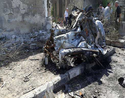 تفجير انتحاري مزدوج قرب مركز قيادة شرطة دمشق (فيديو)