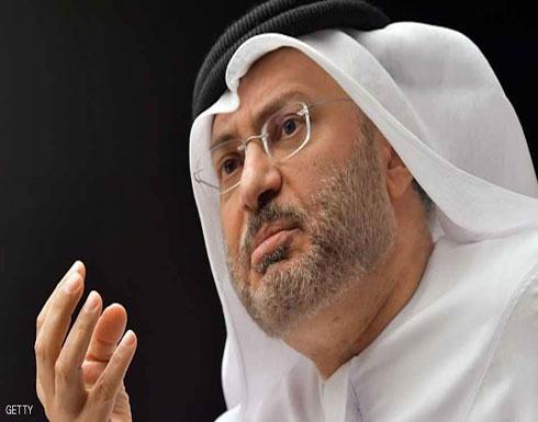 قرقاش: موقف الإمارات في أحداث جنوب اليمن واضح في دعم التحالف