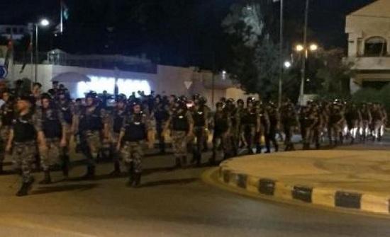 عمان : الدوار الرابع في اليوم الثامن .. بلا محتجين