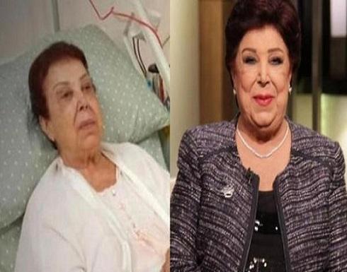 الصحة المصرية: حالة رجاء الجداوي الصحية حرجة