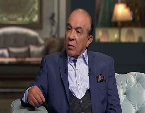 نقل الفنان المصري هادي الجيار للعناية المركزة بسبب كورونا