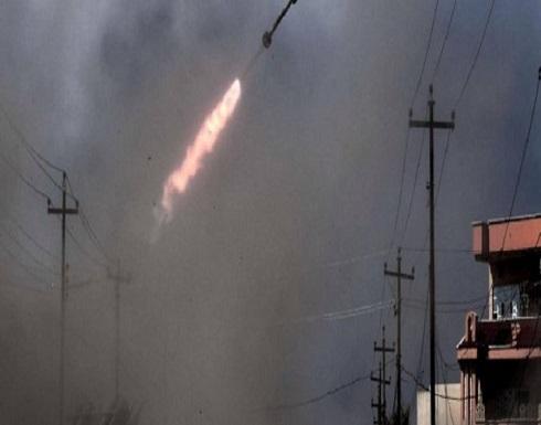 """قصف صاروخي على قاعدة """"فيكتوريا"""" بمطار بغداد الدولي"""