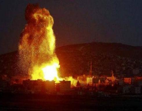 الاحتلال الاسرائيلي يقصف قطاع غزة