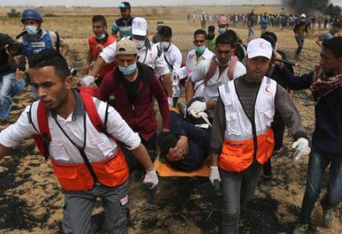 شهداء وعشرات  الجرحى في  الجمعة الرابعة لمسيرة العودة