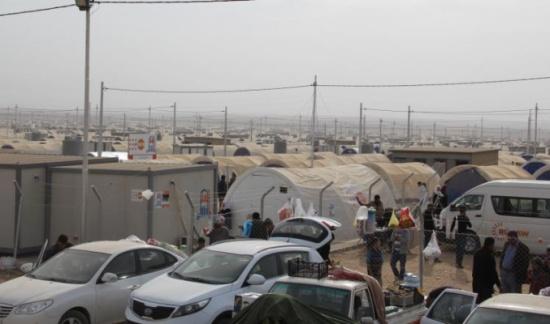 أربيل تجهز ثمانية مخيمات لاستقبال نازحي الموصل