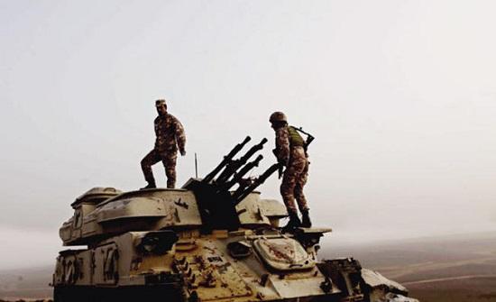 الأردن : إحباط محاولة تسلل وتهريب كمية كبيرة من المخدرات من الجانب السوري