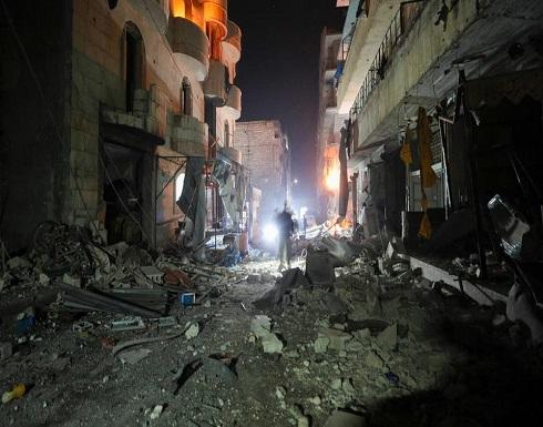 جثث تحت الأنقاض.. مقتل 10 مدنيين بضربات روسية على إدلب