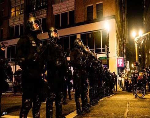 """اعتقال 100 متظاهر أميركي بخطة """"الغليان"""".. وظهور """"أنتيفا"""""""