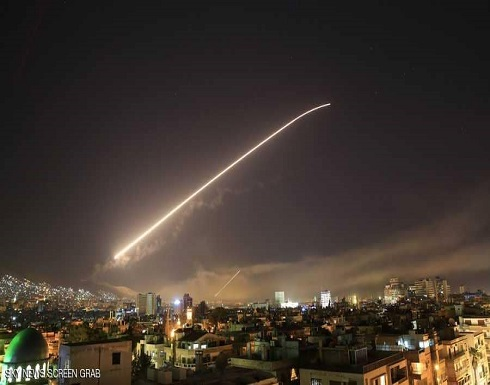 وكالة: الدفاعات الجوية السورية تتصدى لهجوم إسرائيلي