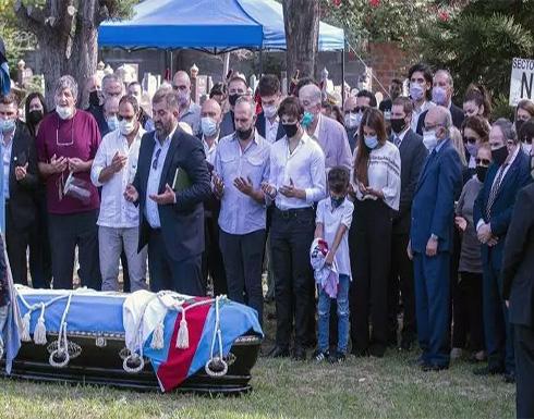الأرجنتين.. جثمان كارلوس منعم يوارى الثرى في مقبرة إسلامية (فيديو)