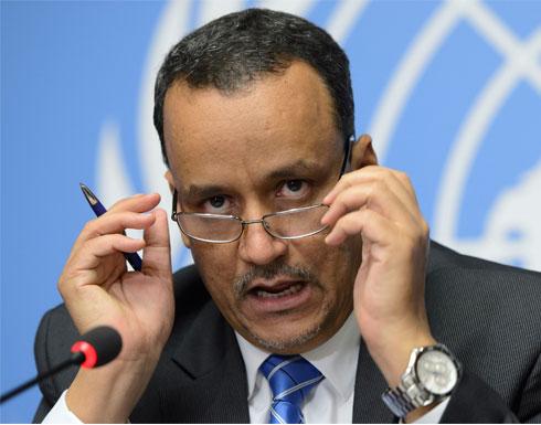 """ولد الشيخ: مشاورات اليمن تقترب من التوصل لـ """" اتفاق تاريخي """""""