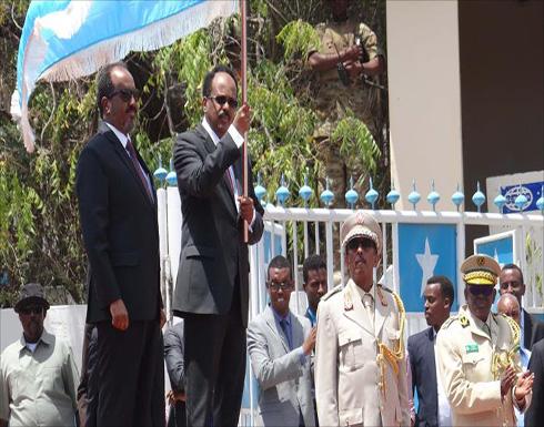 قذائف قرب القصر عند تسلم فرماجو رئاسة الصومال