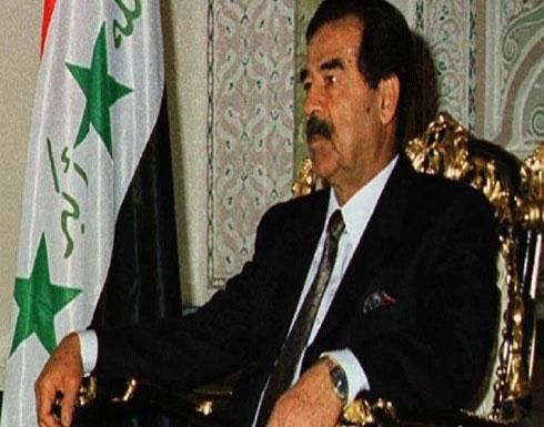 العثور على رواية رومانسية كتبها الراحل صدام حسين