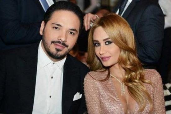 رامي عياش يحتفل مع زوجته بعيد الحب – بالصورة
