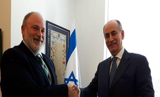 السفير الأردني الجديد في إسرائيل يتولى مهامه