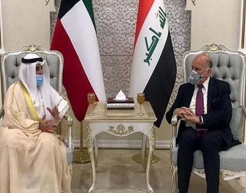 وزير خارجية الكويت يزور نظيره العراقي.. لبحث هذا الملف