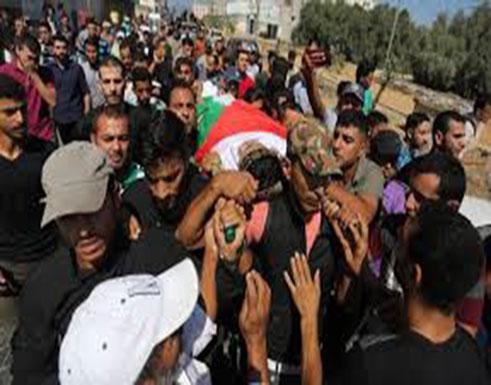 بالفيديو : غزة تشيع جثمان الشهيد عماد اشتيوي