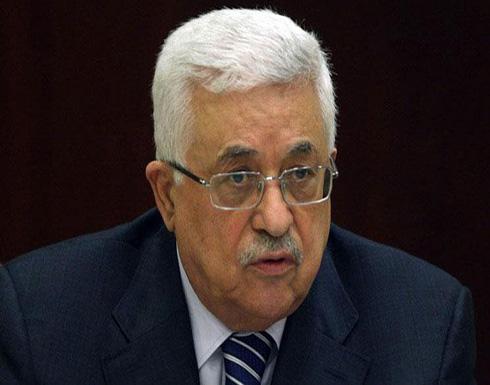 عباس يؤكد تعاونه مع الجهود الأمريكية لإحياء عملية السلام
