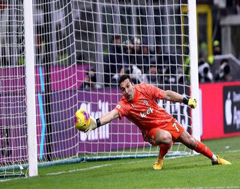 """بوفون يحطم رقم مالديني القياسي بعدد المشاركات في الدوري الإيطالي """"الكالتشيو"""""""