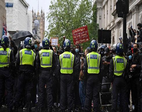 جونسون عن عنف الاحتجاجات: لا مكان للبلطجة في شوارعنا