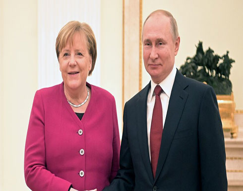 ميركل: آمل في نجاح مبادرة بوتين وأردوغان حول ليبيا