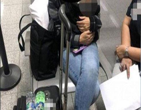 القبض على امرأة في المطار حاولت تهريب رضيع في حقيبتها!