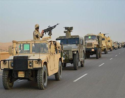 الجيش المصري يعلن عودة دورية مفقودة للقاهرة بالتعاون مع السودان