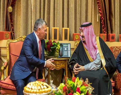 الملك عبدالله يشدد على وقوف الاردن بجانب السعودية في مختلف الظروف