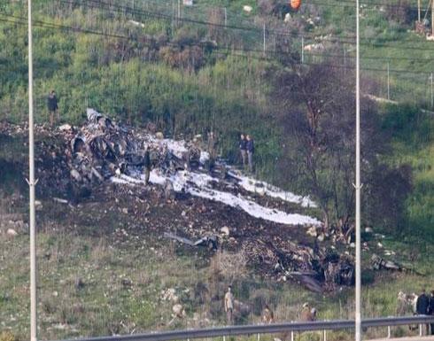 طيار إسرائيلي في حالة حرجة جدا بعد إسقاط طائرته