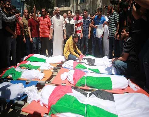 ارتفاع عدد شهداء العدوان الإسرائيلي على غزة الى 212 شهيدا