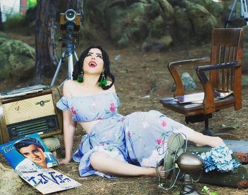 بالصور والفيديو : حليمة بولند تخضع لجلسة تصوير جريئة جديدة